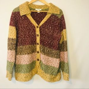Dress Barn Multi Color Woman's Sweater Size 1X